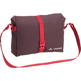 VAUDE ShopAir Box Cykeltaske, raisin